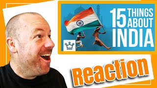 15 Things You Didn't Know About India REACTION by American Dad