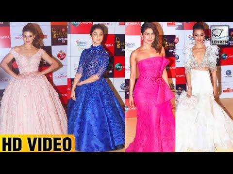 BEST Dressed Actresses At Zee Cine Awards 2018 Red Carpet   Priyanka Chopra   Alia Bhatt   LehrenTV