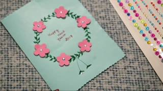 How to make handmade greeting cards easy ideas simple for kids how to make 5 new year greeting cards m4hsunfo