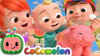Piggy Bank Song   CoCoMelon Nursery Rhymes & Kids Songs