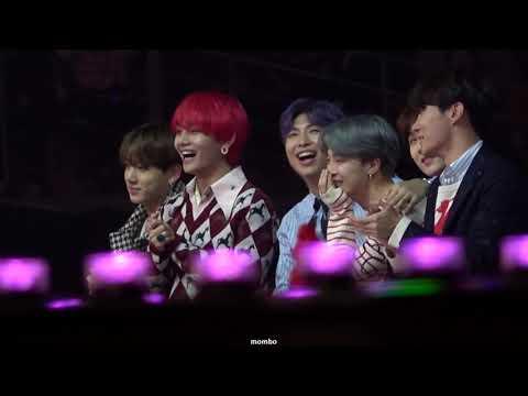 181201MMA 멜론뮤직어워드 방탄소년단 BTS reaction -나하은 댄스상 후보 무대