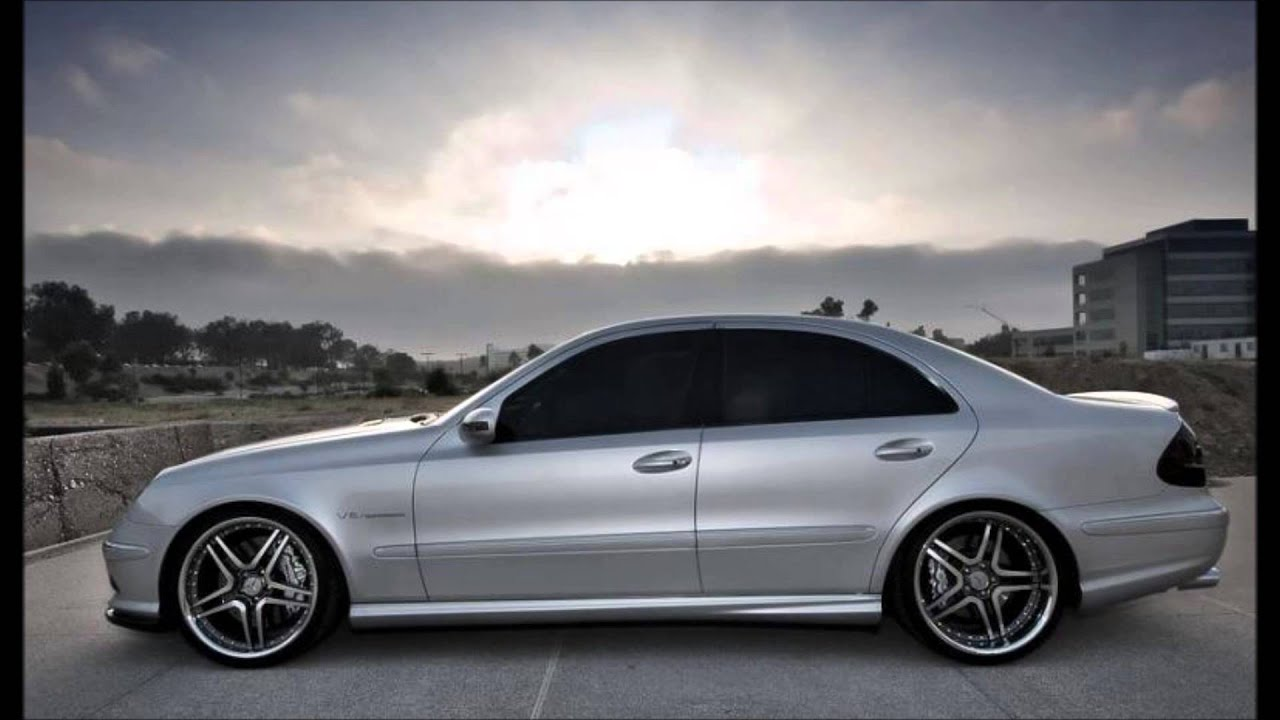 mercedes e class w211 tuning body kit youtube. Black Bedroom Furniture Sets. Home Design Ideas