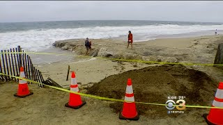 Hurricane Florence's Force Closes Delaware Beach