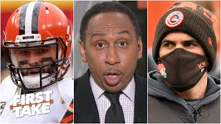 Stephen A. gives his reasons for the Browns' loss vs. the Chiefs | First Take
