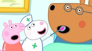 Peppa Pig English Episodes   Looking after Doctor Brown Bear   Peppa Pig Official