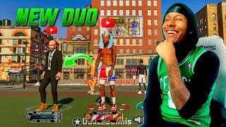 Gman and Duke Dennis MYPARK takeover on NBA 2K20! Is this the NEW UNDEFEATED DUO? BEST BUILD 2K20!