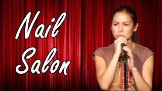 Nail Salon  Anjelah Johnson  Comedy Time Funny Videos