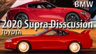 2020 Toyota Supra  Discussion about the controversy.
