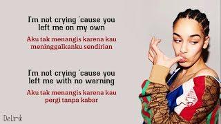 Don't Watch Me Cry - Jorja Smith (Lyrics video dan terjemahan) - [Alexandra Porat Cover]