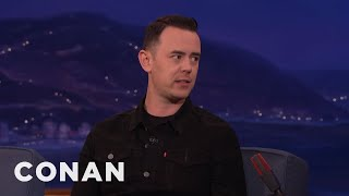 Tom Hanks Told Colin Hanks He Was Getting Tubby  - CONAN on TBS