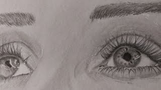 Draw Hyper Realistic Eyes🎨🥰