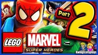 Lego Marvel Super Heroes Walkthrough Part 2 Times Square Off