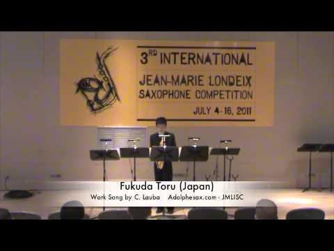 3rd JMLISC: Fukuda Toru (Japan) Work Song by C. Lauba