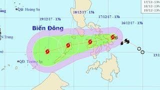Tin Bão Mới Nhất: Tin bão gần Biển Đông (Cơn bão Kai-Tak)