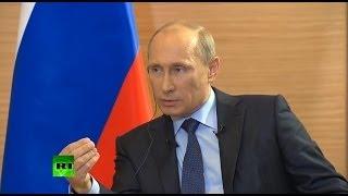 Путин: В случае с Крымом Россия не могла поступить по-другому