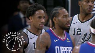 [NBA] Los Angeles Clippers vs San Antonio Spurs, Full Game Highlights, December 21, 2019