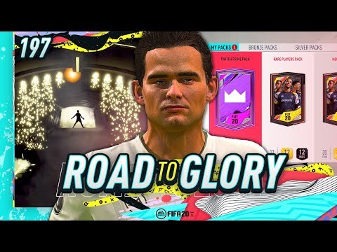 FIFA 20 ROAD TO GLORY #197 - TWITCH PRIME PACK WALKOUT!!