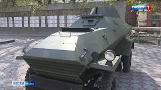 Омский завод «Трансмаш» передал городу уникальную военную машину