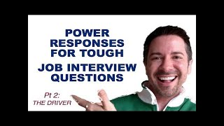 Job Interview Tips: ANSWERING Tough Questions: