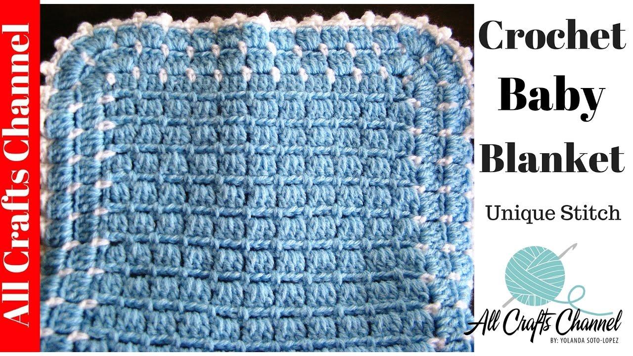 Easy to Crochet Blanket - UNIQUE look - Yolanda Soto Lopez ...