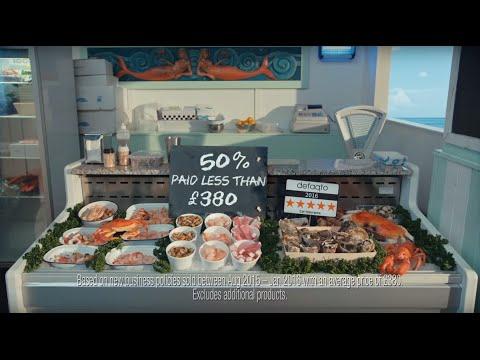 Hastings Direct car insurance - seafood TV advert