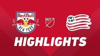 New York Red Bulls vs. New England Revolution | HIGHLIGHTS - August 17, 2019