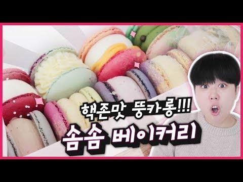 마카롱 대란★ 새벽에 줄서야 먹을 수 있는 그 마카롱집! 과연 그 맛은?! | Korean macaron | 韓国 マカロン