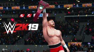 WWE 2K19 - All Cutscenes Movie & Ending ( Main Storyline of My Career Mode )