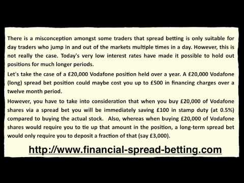 Why do Spreadbets have an Expiry Date?