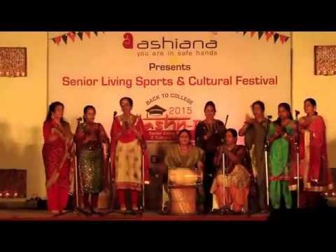 Jashn 2015- Best senior living sport & cultural fest by Ashiana Housing Ltd.