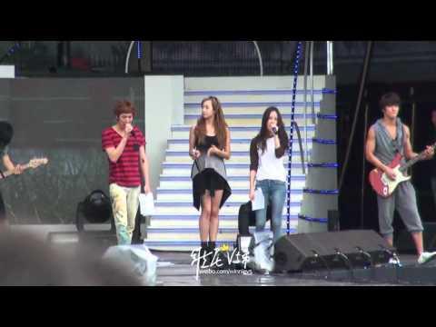 [Fancam] 120815 Victoria Focus - Rehearsal DMZ Concert