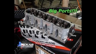 The Texas Speed CNC Ported Heads Have Arrived!!