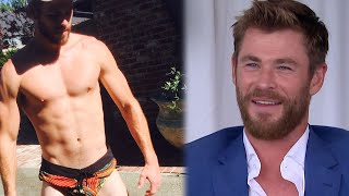 EXCLUSIVE: Chris Hemsworth Reacts to Brother Liam's Short Shorts Photo: 'What Was That About?'