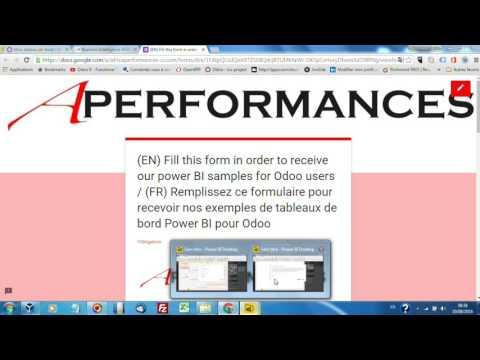 Power BI Templates pour Odoo