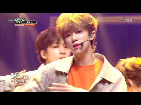 뮤직뱅크 Music Bank -Home - 세븐틴(SEVENTEEN) .20190208