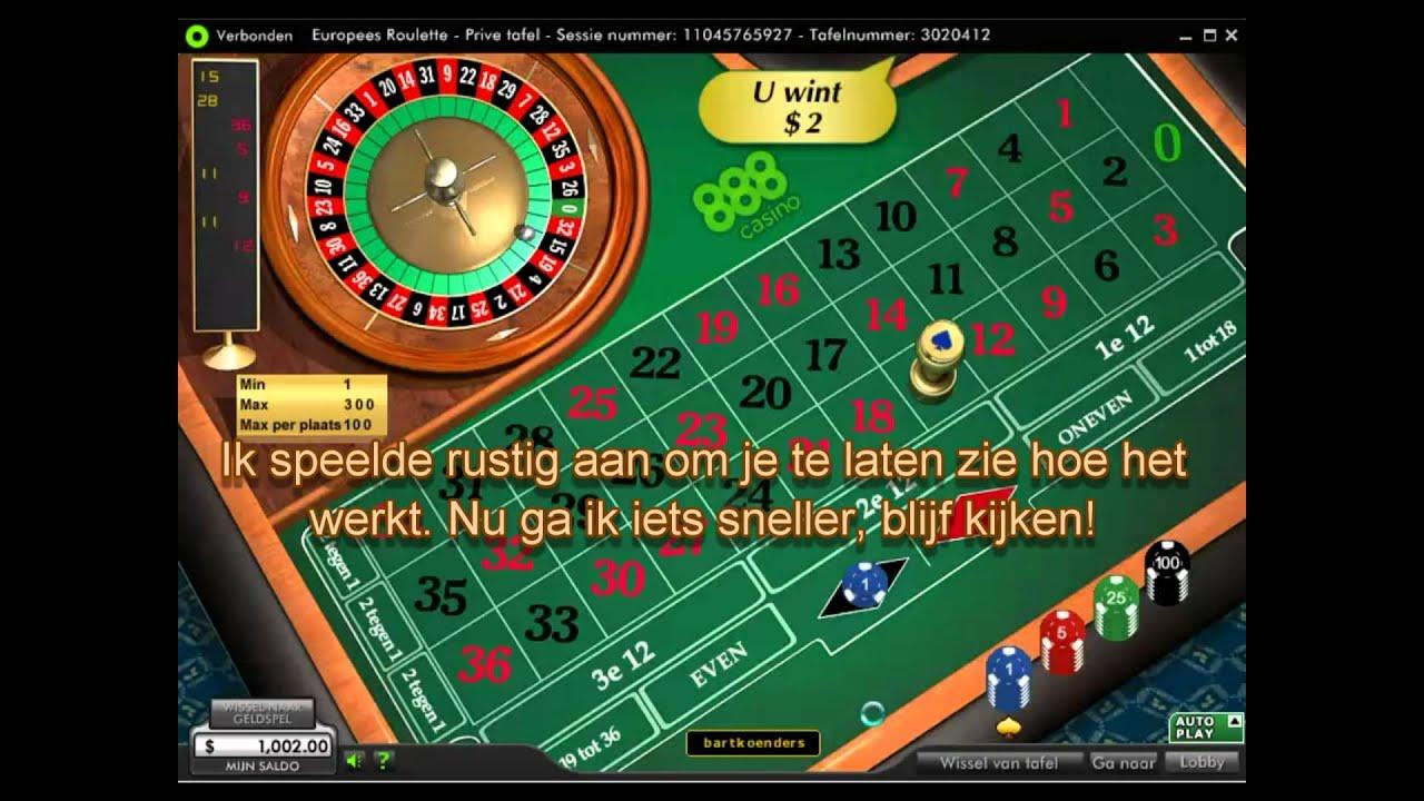 Roulette Casino Strategie