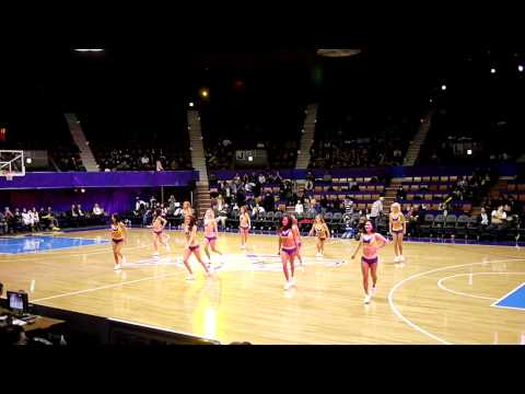 Tokyo Girls Cheerleading for Tokyo Apache Basketball Game
