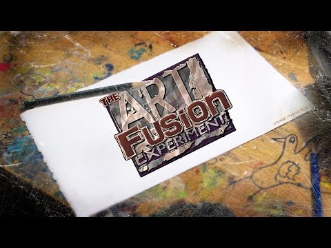 Art Fusion Live Painting Event - 2.11.12 at Last Rites Gallery