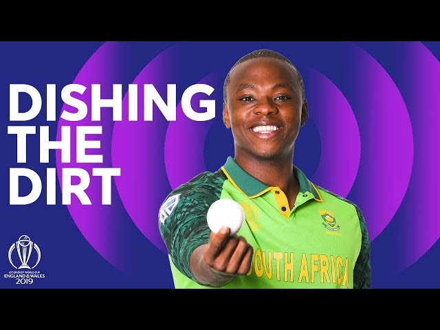 Rabada dishes the dirt!