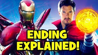 Avengers Infinity War ENDING EXPLAINED + Avengers 4 Time Stone Theory