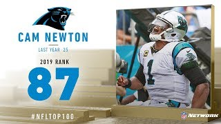 #87: Cam Newton (QB, Panthers) | Top 100 Players of 2019 | NFL