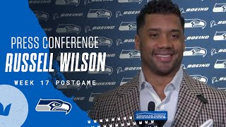 Russell Wilson Week 17 Postgame 2020 Press Conference at 49ers