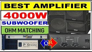 NX Audio Proton RX4000 Live Sound Power Amplifier REVIEW - A1