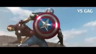 Nội chiến Siêu Anh hùng   Người sắt và đội trưởng mỹ   Hoạt hình 3D   Phần 01
