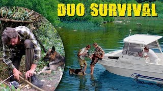 Surviving on an Island - 72 hours with Axe & pocket Knife