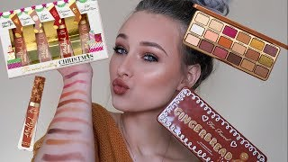 TOO FACED HOLIDAY COLLECTION 2018 / GINGERBREAD PALETTE + LIP COLLECTION