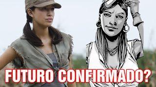 O futuro da Rosita na série - The Walking Dead