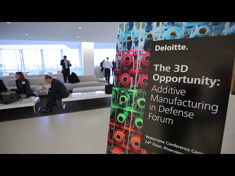 Highlights from Deloitte's Additive Manufacturing in Defense Forum