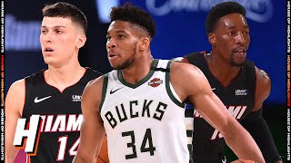 Miami Heat vs Milwaukee Bucks - Full Game Highlights   August 6, 2020   2019-20 NBA Season