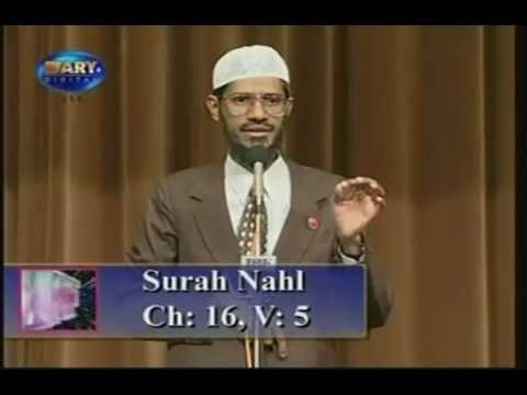 Why do Muslims kill animals for eating? (Dr.Zakir Naik )